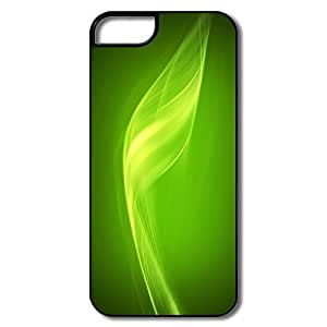 IPhone 5 5S Cases, Flux Green White/black Cases For IPhone 5 by icecream design