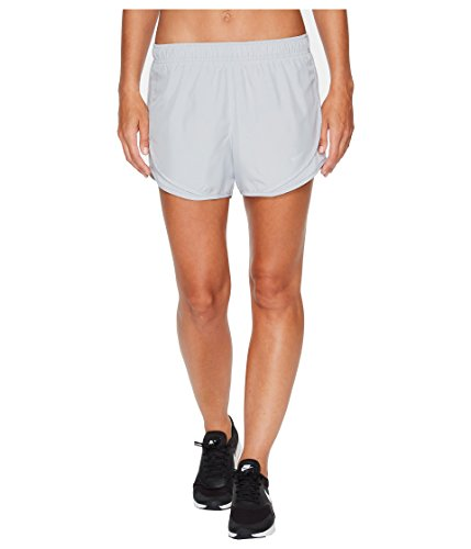 Nike Anthracite/Verde Green Women's Tempo Short (L) (Nike Dark Green Shorts Women)