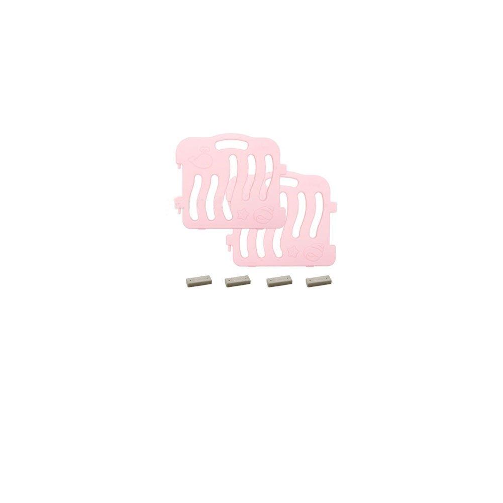 Baby Playpen Room Shell Panels 1Set-(2pcs) (Pink)