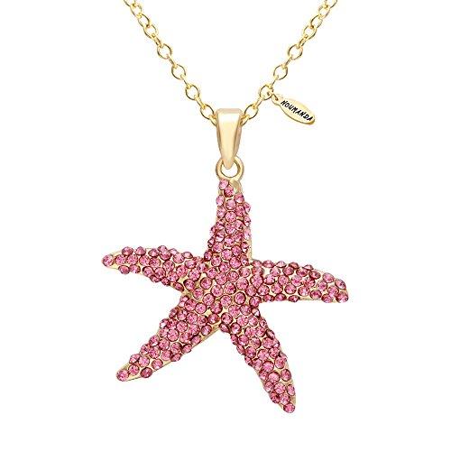 NOUMANDA Deep Sea Star Pink Starfish Necklace (Starfish Pink)