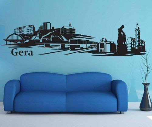 Adhesivo de Pared Gera Pegatina Skyline City XXL Ciudad ...