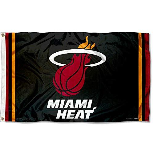 Wincraft NBA Miami Heat Flag 3x5 Banner (Flag Miami Heat)