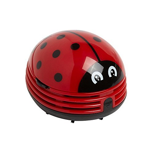Crumby Mini Wireless Handheld Vacuum - Lady Bug by Tristar