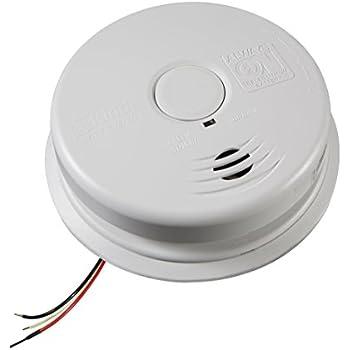 41ILUmExIvL._SL500_AC_SS350_ amazon com kidde i12020 basic hardwire smoke alarm with test  at gsmportal.co