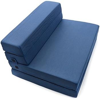 Tri Fold Futon Mattress Standard Cotton Rich