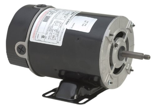 A.O. Smith BN37V1 1 HP-1/8 HP, 115 Volts, 11.0/2.9 Amps, 1 Service Factor, 48Y Frame, Capacitor Start, ODP Enclosure, Rigid Base Pool Motor