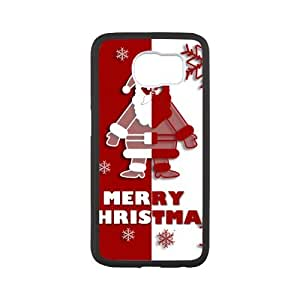 super shining day Christmas Gift Holiday Winter Merry Christmas Santa Claus Special Samsung Galaxy S6 TPU Material Durable Back Case
