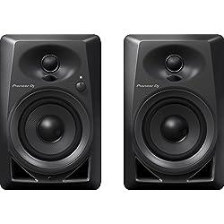 Pioneer DJ DM-40 PAIR Desktop Monitors Bring Excellent Audio Quality