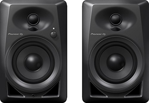 Pioneer Pro DJ Studio Monitor, RCA, Mini-Jack, Black - Studio Inch Way 2 Active 8