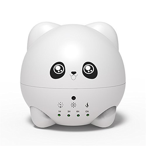 al Oil Diffuser Personal Ultrasonic Cool Mist Humidifier Cute Panda Air Scent Aroma Diffusers for Bedroom,Home,Office Air Purifiers for Birthday Gifts 300ml ()