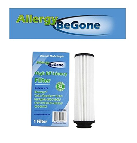 40140201 Hepa Filter Replacement - Allergy Be Gone Hoover 40140201 Long-Life HEPA Cartridge Filter