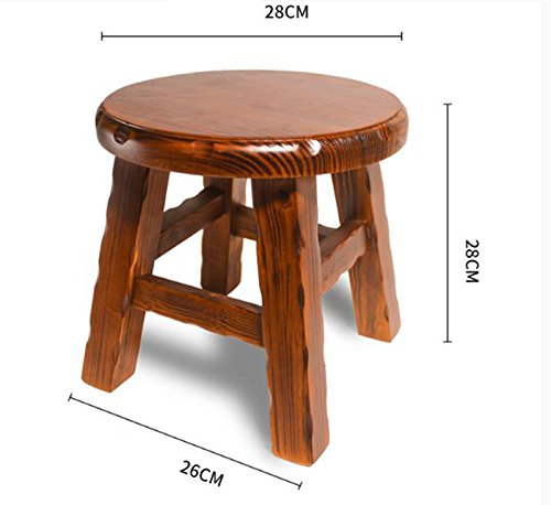 Solid wood small round stool/simple small stool/home stool/fashion shoes stool/small wooden stool