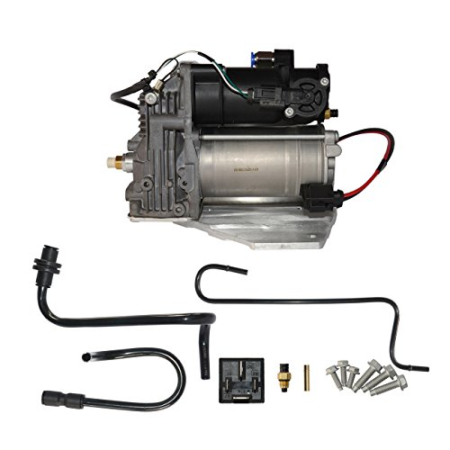 GELUOXI Air Suspension Compressor Pump Fit For Land Rover LR3 LR4 AMK Style & Range Rover Sport LR015303 LR023964 LR061663 949-900 (4 pins connector)