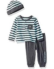 Calvin Klein - Conjunto de pantalón y Gorro para bebé (2 Piezas)