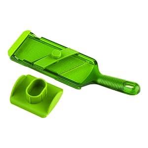 Kuhn Rikon Adjustable Mandoline, Green