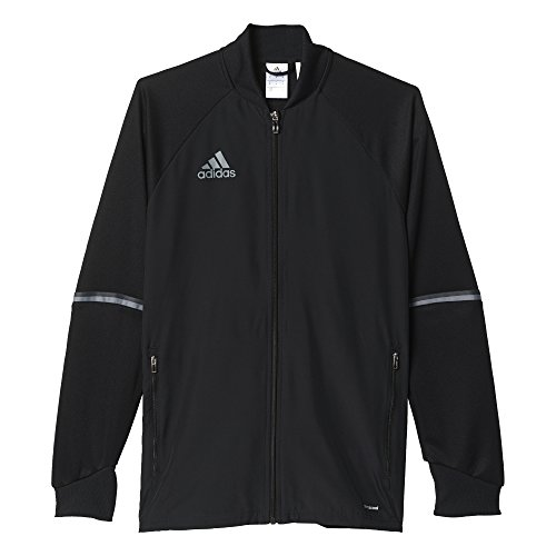(Adidas Condivo 16 Mens Training Jacket L Black-Vista Grey)