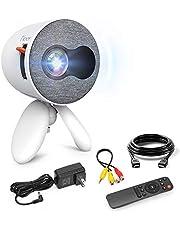 جهاز عرض صغير YG220 Pico LCD جهاز عرض فيديو يصلح هدية للاطفال لعبة مسرح منزلي الترفيه في الهواء الطلق بمدخل HDMI USB AV مايكرو اس دي وجهاز التحكم عن بعد