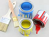 Cornucopia Metal Paint Cans with Lids