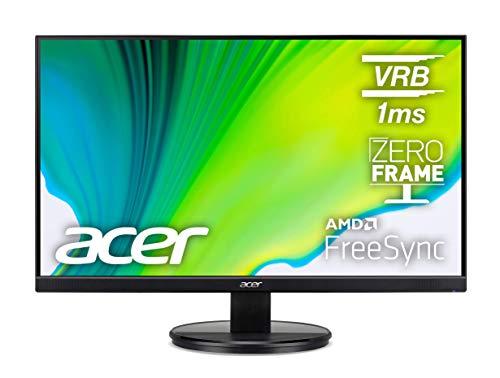 """Monitor Acer KB272HL Hbi 27 """"Full HD (1920 x 1080) con tecnología AMD Radeon FREESYNC, 75Hz, 1ms (VRB) (puerto HDMI 1.4 y puerto VGA), negro"""