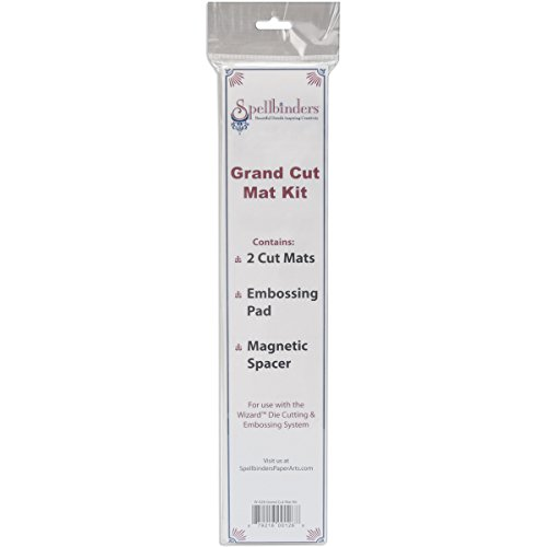 Spellbinders W-026 Grand Cut Mats for Wizard Cutting and Embossing System