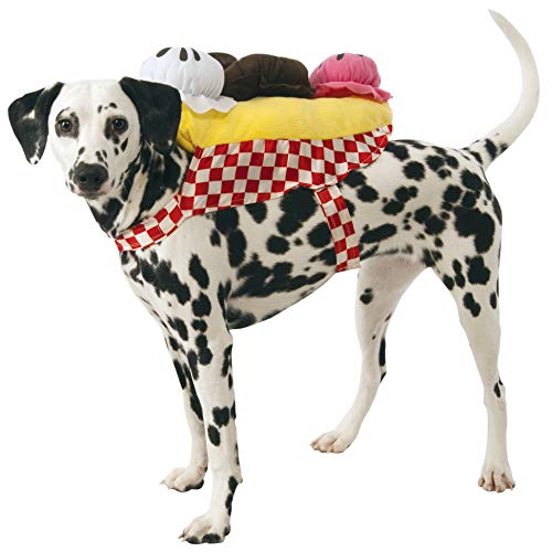 Rubie's Banana Split Ice Cream Sundae Dog Costume, -