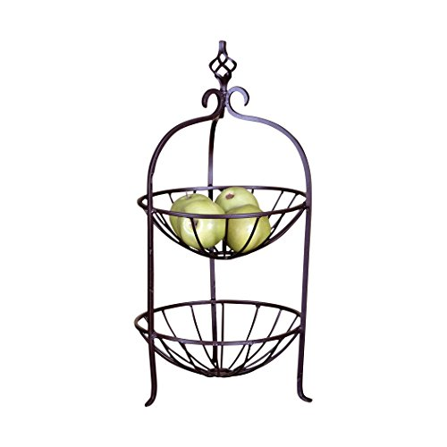(Traditional Décor Collection Carthage Basket Stand Small )