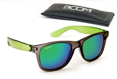 Boom Spectrum 3 0 Polarized Sunglasses   Biohazard