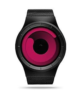 ZIIIRO Z0002WB2 Mercury Black Magenta Unisex Watch