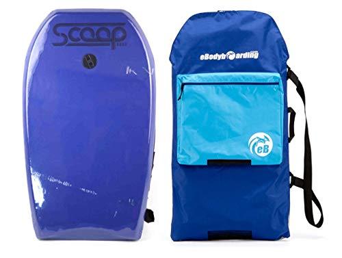 "Hydro Scoop Kids 33"" Bodyboard with Bodyboard Bag and Leash"