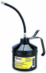 Lumax LX-1518 Black 32 fl. oz./1 Quart (960 ml) Handled Oiler with Vertical Flex Spout