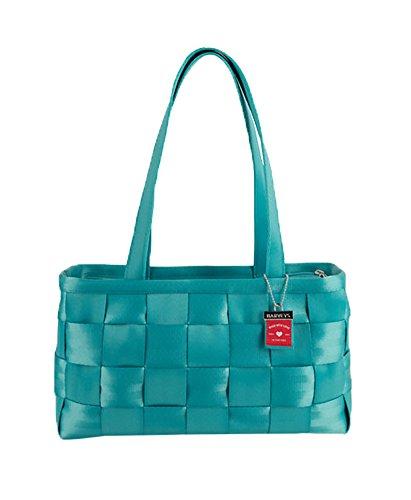 - Harveys Womens Large Seatbelt Satchel (Turquoise)