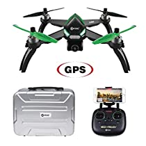 Contixo F20 GPS FPV RC Drone with 5G 1080P HD WiFi Camera Live Video, GPS Smart Return, Follow Me, Altitude Hold, Headless Mode, Track Flight Point of Interest Flying