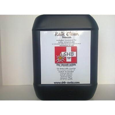 SHB swiss détartrant spécial premium 10 l pour machine à espresso, café, espresso et machines à capsules (jusqu'à 100 oster offre décalcifications)