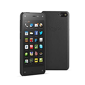 Amazon Leather Case for Fire Phone, Black