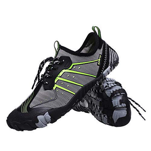 HAPPIShare Mens Womens Water Shoes Aqua Shoes Swim Shoes Beach Sports Quick Dry Barefoot for Boating Fishing Diving