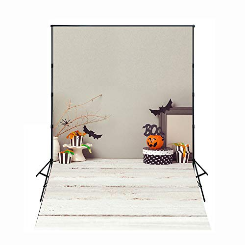 FiVan 5x7ft Halloween Photos Backdrop Decors Photography Background Thin Vinyl Photo Booth XT-4434 -