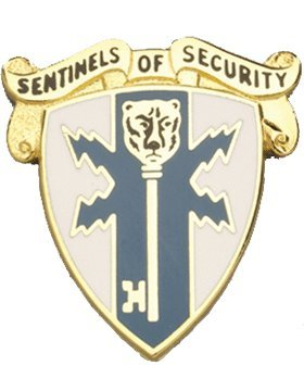 (309th Military Intelligence Bn Unit Crest (Sentinels Of Security))