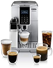 De'Longhi Dinamica with LatteCrema Fully Automatic Espresso Machine, Silver, ECAM35075SI