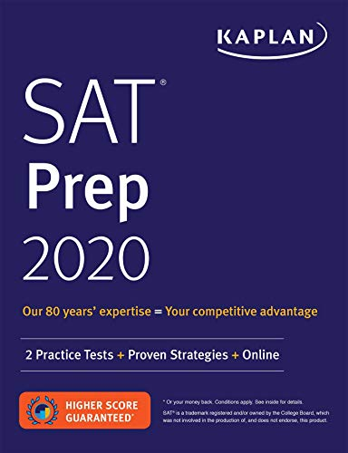 Pdf Teen SAT Prep 2020: 2 Practice Tests + Proven Strategies + Online (Kaplan Test Prep)