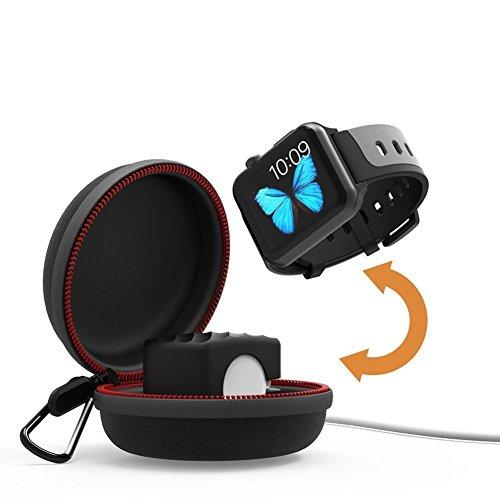 Ocamo Cargador Portátil para Apple Watch Charger, Serie 1, 2, 3, Accesorio de Fitness