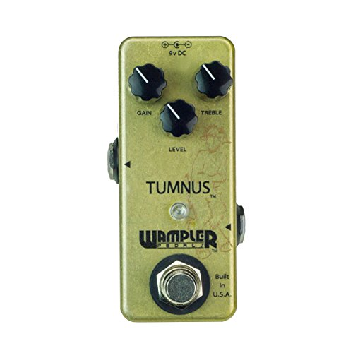 - Wampler Tumnus Overdrive Guitar Effects Pedal