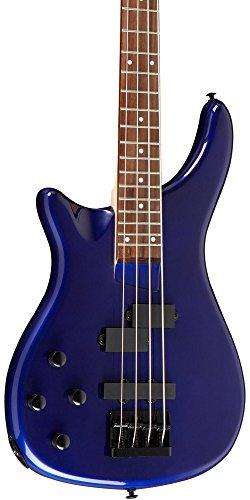 Rogue LX200BL Left-Handed Series III Electric Bass Guitar Metallic Blue