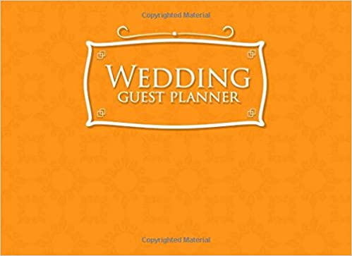 Wedding Guest Planner Blank List Organizer Notebook Names And Addresses Of People To Invite Send Invitations Log