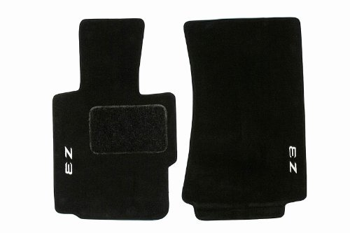 BMW Genuine Z3 Logo Embroidered Black Floor Mats for Z3 SERIES ALL MODELS ROADSTER (1995 - 2002)