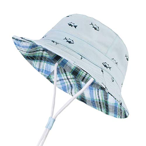 69a83262a60684 Durio Baby Sun Hat Summer Beach UPF 50+ Sun Protection Baby Boy Hats ...