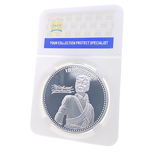 TACC Commemorative Coin Collection Michael Jackson King of American Pop