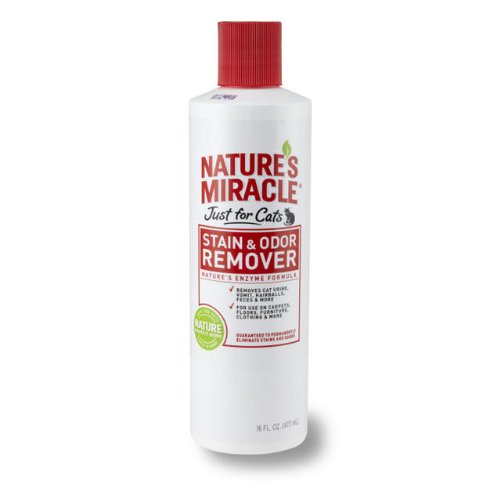 Natures Miracle JFC Stain and Odor Remover, Pint, My Pet Supplies