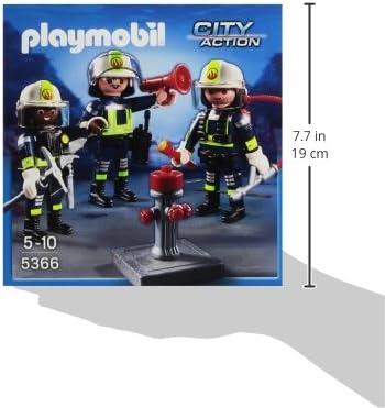Fireman with special Belt Playmobil to löschzug Rescue Figure Brand 2160