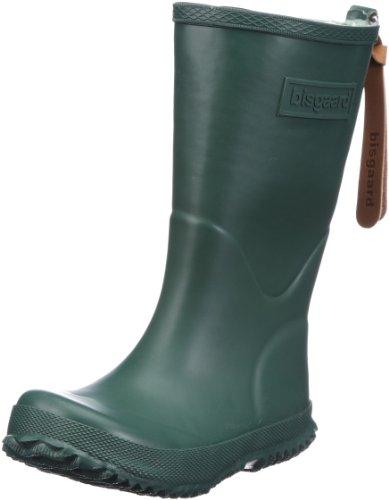 Bisgaard RAIN BOOT, Botas de Caucho, Niños Verde (30 green)