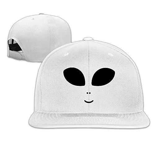 Plus Size Football Halloween Costumes (SHHH Halloween Costume Cute Alien Adjustable Flat Brim Baseball Cap Hip Hop Hat For Men And Women)